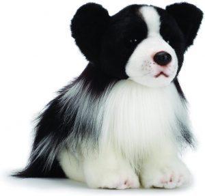Peluche de Border Collie de 27 cm de Nat and Jules - Los mejores peluches de border collies - Peluches de perros