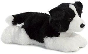 Peluche de Border Collie de 30 cm de Aurora - Los mejores peluches de border collies - Peluches de perros