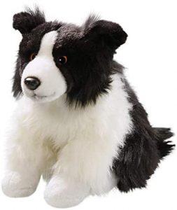 Peluche de Border Collie de 33 cm de Carl Dick - Los mejores peluches de border collies - Peluches de perros