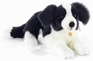 Peluche de Border Collie de 45 cm de Plush and Company - Los mejores peluches de border collies - Peluches de perros