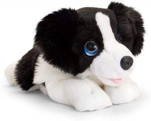 Peluche de Border Collie de 47 cm de Keel Toys - Los mejores peluches de border collies - Peluches de perros
