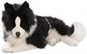 Peluche de Border Collie de 60 cm de Carl Dick - Los mejores peluches de border collies - Peluches de perros