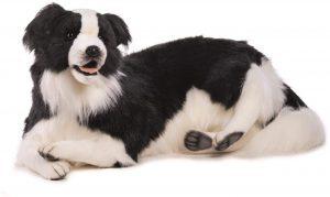 Peluche de Border Collie de 85 cm de Hansa - Los mejores peluches de border collies - Peluches de perros