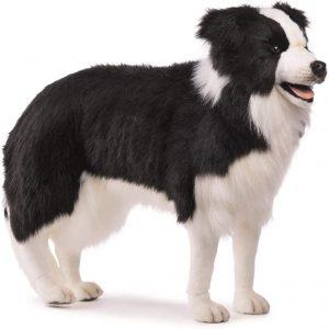 Peluche de Border Collie de 88 cm de Hansa - Los mejores peluches de border collies - Peluches de perros