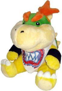 Peluche de Bowser Junior de 17 cm de Nintendo - Los mejores peluches de Bowser de Super Mario - Peluches de personaje de Mario