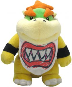 Peluche de Bowser Junior de 20 cm de Nintendo - Los mejores peluches de Bowser de Super Mario - Peluches de personaje de Mario
