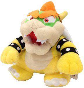 Peluche de Bowser de 23 cm de Nintendo - Los mejores peluches de Bowser de Super Mario - Peluches de personaje de Mario