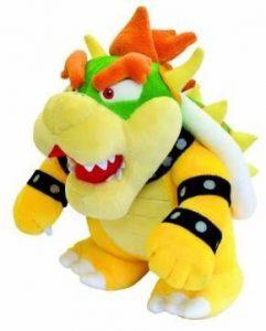 Peluche de Bowser de 26 cm de Nintendo - Los mejores peluches de Bowser de Super Mario - Peluches de personaje de Mario