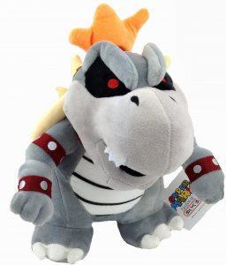 Peluche de Bowser esqueleto de 23 cm de Nintendo - Los mejores peluches de Bowser de Super Mario - Peluches de personaje de Mario