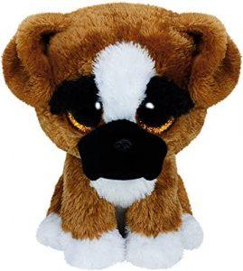 Peluche de Boxer de 15 cm de Ty - Los mejores peluches de boxers - Peluches de perros