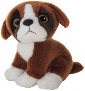 Peluche de Boxer de 18 cm de Wild Watcher - Los mejores peluches de boxers - Peluches de perros