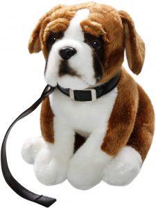 Peluche de Boxer de 27 cm de Carl Dick - Los mejores peluches de boxers - Peluches de perros