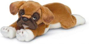 Peluche de Boxer de 33 cm de Bearington - Los mejores peluches de boxers - Peluches de perros