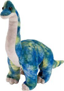 Peluche de Braquiosaurio de Wild Republic de 25 cm - Los mejores peluches de Diplodocus - Peluches de dinosaurios de cuello largo