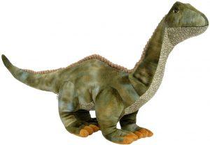 Peluche de Brontosaurio de Wagner de 55 cm - Los mejores peluches de Diplodocus - Peluches de dinosaurios de cuello largo