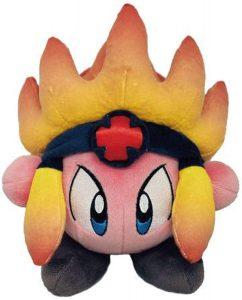 Peluche de Burning Leo de 18 cm de Nintendo - Los mejores peluches de Kirby - Peluches de personaje de Kirby