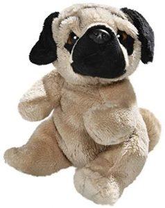 Peluche de Carlino de 15 cm de Carl Dick - Los mejores peluches de carlinos - PUG - Peluches de perros