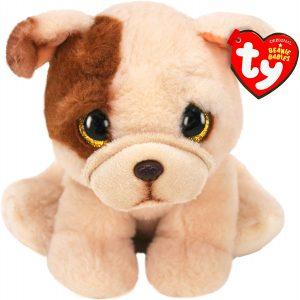 Peluche de Carlino de 15 cm de Ty - Los mejores peluches de carlinos - PUG - Peluches de perros