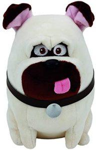 Peluche de Carlino de 15 cm de Ty de Mascotas - Los mejores peluches de carlinos - PUG - Peluches de perros