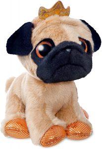 Peluche de Carlino de 18 cm de Aurora - Los mejores peluches de carlinos - PUG - Peluches de perros