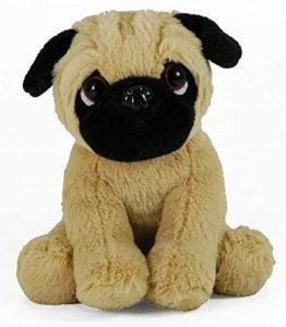 Peluche de Carlino de 18 cm de LB - Los mejores peluches de carlinos - PUG - Peluches de perros