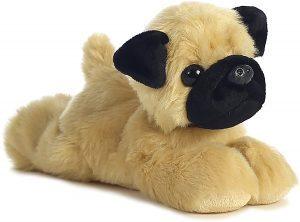 Peluche de Carlino de 20 cm de Aurora - Los mejores peluches de carlinos - PUG - Peluches de perros