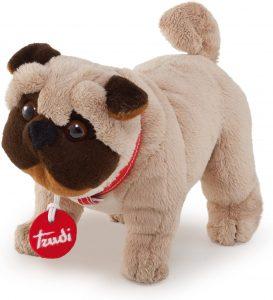 Peluche de Carlino de 20 cm de Trudi - Los mejores peluches de carlinos - PUG - Peluches de perros