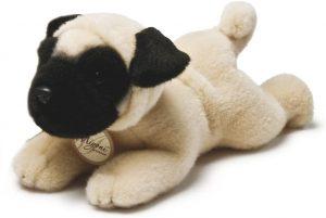 Peluche de Carlino de 21 cm de Aurora - Los mejores peluches de carlinos - PUG - Peluches de perros
