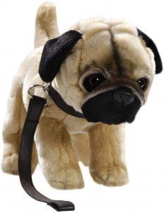 Peluche de Carlino de 23 cm de Carl Dick - Los mejores peluches de carlinos - PUG - Peluches de perros