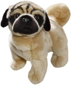 Peluche de Carlino de 25 cm de Carl Dick - Los mejores peluches de carlinos - PUG - Peluches de perros