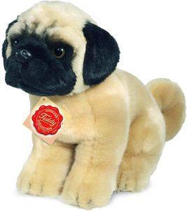 Peluche de Carlino de 25 cm de Teddy Hermann - Los mejores peluches de carlinos - PUG - Peluches de perros