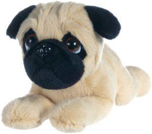 Peluche de Carlino de 30 cm de LB - Los mejores peluches de carlinos - PUG - Peluches de perros