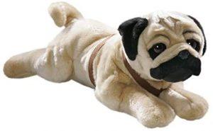 Peluche de Carlino de 50 cm de Carl Dick - Los mejores peluches de carlinos - PUG - Peluches de perros