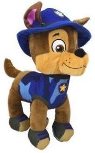 Peluche de Chase de la Patrulla Canina de 28 cm - Los mejores peluches de la Patrulla Canina - Peluches de la Patrulla Canina