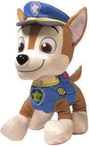 Peluche de Chase de la Patrulla Canina de 33 cm - Los mejores peluches de la Patrulla Canina - Peluches de la Patrulla Canina