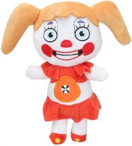 Peluche de Circus Baby de 20 cm - Los mejores peluches de 5 Nights at Freddys - Peluches de videojuegos