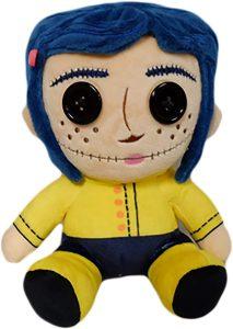 Peluche de Coraline de 18 cm de Kidrobot - Los mejores peluches de los mundos de Coraline - Peluches de Coraline