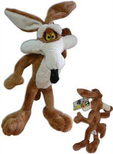 Peluche de Coyote de 20 cm - Los mejores peluches del Coyote de los Looney Tunes - Peluches de dibujos animados