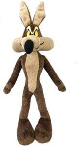 Peluche de Coyote de 33 cm - Los mejores peluches de Coyote de los Looney Tunes - Peluches de dibujos animados