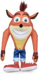 Peluche de Crash Bandicoot de 40 cm - Los mejores peluches de Crash Bandicoot - Peluches de personaje de Crash Bandicoot