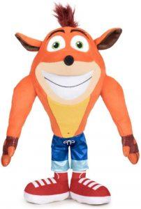 Peluche de Crash Bandicoot de 60 cm - Los mejores peluches de Crash Bandicoot - Peluches de personaje de Crash Bandicoot