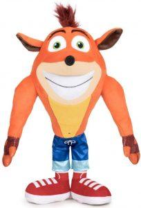 Peluche de Crash Bandicoot sonrisa de 32 cm - Los mejores peluches de Crash Bandicoot - Peluches de personaje de Crash Bandicoot