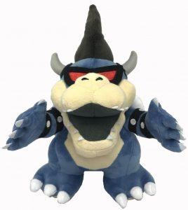 Peluche de Dark Bowser de 23 cm de Nintendo - Los mejores peluches de Bowser de Super Mario - Peluches de personaje de Mario