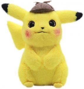 Peluche de Detective Pikachu de 28 cm - Los mejores peluches de Pikachu de Pokemon - Peluches de Pokemon