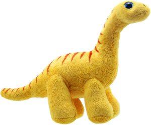 Peluche de Diplodocus de Wilberry de 25 cm - Los mejores peluches de Diplodocus - Peluches de dinosaurios de cuello largo