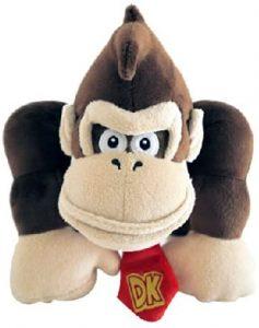 Peluche de Donkey Kong de 24 cm de Mario Bros 2 - Los mejores peluches de Donkey Kong - Peluches de personajes del gorila Donkey Kong