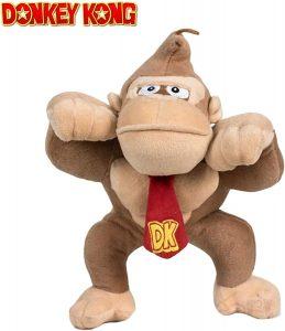 Peluche de Donkey Kong de 32 cm de Mario Bros - Los mejores peluches de Donkey Kong - Peluches de personajes del gorila Donkey Kong