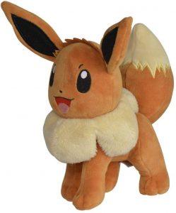 Peluche de Eevee de 20 cm - Los mejores peluches de Eevee - Peluches de Pokemon