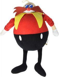 Peluche de Eggman de 26 cm de SEGA - Los mejores peluches de Sonic - Peluches de personajes del erizo Sonic
