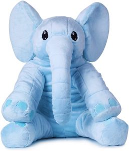 Peluche de Elefante Nio de 60 cm de Pocoyo - Los mejores peluches de Pocoyo - Peluches de dibujos animados